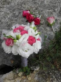Fleurs mariage en Aveyron le 20 Juillet 2013