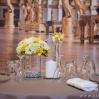 Décoration de table jaune