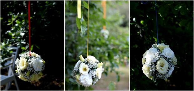 boules fleurs