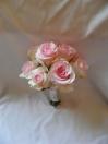 Bouquet de mariée pour un mariage hivernal début Mars