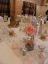 Centre de table hivernal