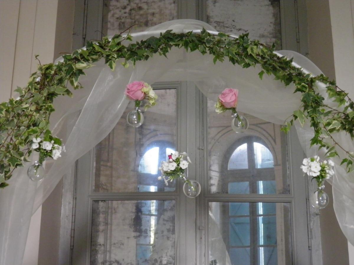 d coration d arche mariage l 39 atelier d cos. Black Bedroom Furniture Sets. Home Design Ideas