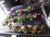 Décoration de voiture rouge