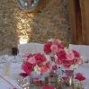 Centre de table des mariés- Virginie et Amaury-20 Juillet 2013