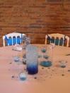 Centre de table thème bulles