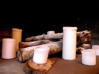 Décoration avec bougies