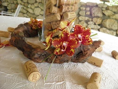 Th me vin l 39 atelier d cos for Cep de vigne decoration