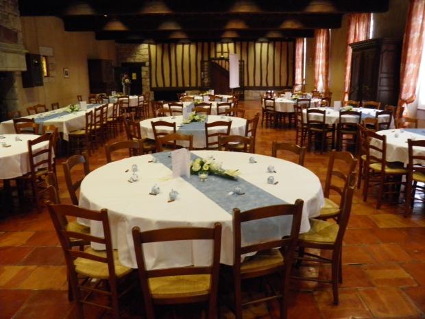 Salle de réception du chateau de Monbazillac