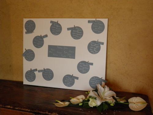 petite dcoration - Chateau De Monbazillac Mariage