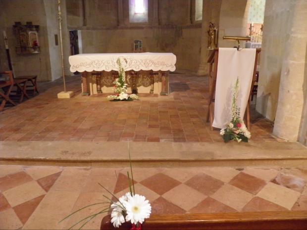 Décoration de mariage religieu