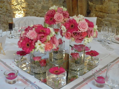 D coration mariage midi pyr n e l 39 atelier d cos - Decoration de table avec bougies ...