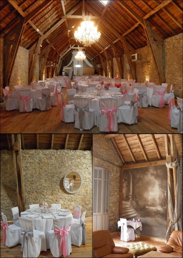 Salle de réception du chateau Labro