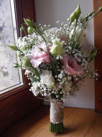 Bouquet de la mariée champêtre