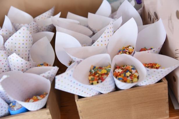 Cornets confettis
